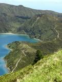 Lagoa do Fogo hiking trail