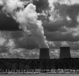The dark satanic cooling towers of Nogent-sur-Seine