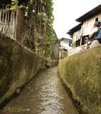 Open sewerage, Lisu village