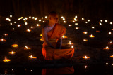 Makabucha Day in Chiang Mai Thailand 2013