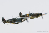 Spitfires EP120 and X4650