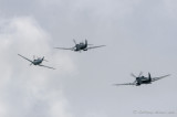 Spitfires chase the Buchon
