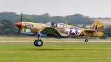 Curtiss P-40F Warhawk G-CGZP X17 Lee's hope