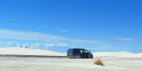 At white sands