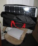 120 watt solar charger for boondocking.