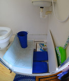 Boards to cover shower floor for more storage space