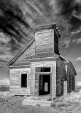 Old church in Taiban New Mexico