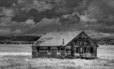 Old house near Capulin New Mexico.