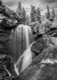 Ouzel Falls in Rocky Mountain National Park.