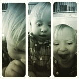 Carson selfies-I love this little guy!