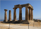 Ancient Corinth, Apollon's temple #01