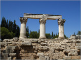 Ancient Corinth, Octavia's temple #01