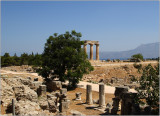 Ancient Corinth, Apollon's templ e#03