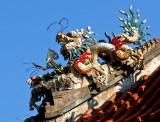 Chinese pavilion detail