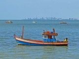 The waters off Bang Saray with Jomtien in the distance