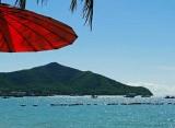 View from the beach at Bang Saray