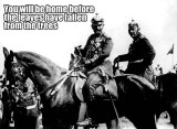 1914 - German prediction