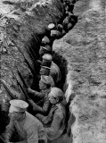 1917 - Russian troops awaiting a German attack