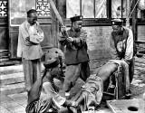 c. 1900 - Criminal being punished