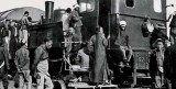 1922- Rebels seizing train carrying ammunition for the imperial troops