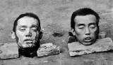 10 October 1911 - Severed heads of rebel leaders