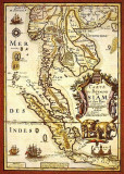 1686 - Map of Siam