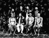 1868 - Dignitaries who joined King Mongkut to watch a total eclipse of the sun