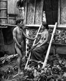 1905 - Tribal villagers