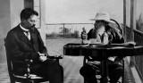 1901 - Anton Chekov and Leo Tolstoy