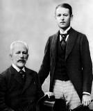 1892 - Tchaikovsky with Bob