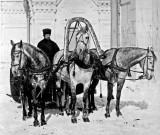 c. 1900 - Man on a troika
