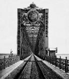 1894 - Bridge across the Volga in Syzran