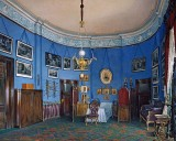 1865 - Bedroom of the future Tsar Nicholas II