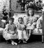 1900 - Nicholas and Alexandra's first three children