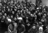 February 1917 - Women protesting the cost of food in St. Petersburg