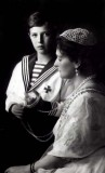 1913 - Alexei with his mother, Alexandra