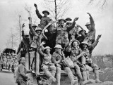 April 1917 - Celebrating victory after the Battle of Vimy Ridge