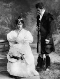 1890 - Nicholas with Princess Elizabeth of Hesse
