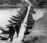 September 1914 - Makeshift bridge