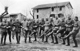 27 January 1918 - German officers celebrating the Kaiser's birthday