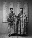 c. 1870 - Buddhist monks