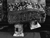 Cixi's 6-inch high bejeweled shoes