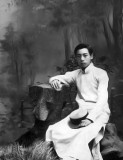 1914 - Zhou Enlai in scholar's gown