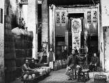 c. 1893 - Merchants selling preserved ginger