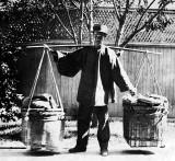 c. 1895 - Vegetable vendor