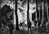 1900 - Burning down a temple