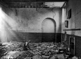 June 1917 - Schoolroom after a German air raid