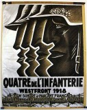 1918 - Poster for French film