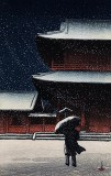 1922 - Zojoji in Snow