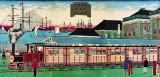 1875 - Train between Tokyo and Yokohama